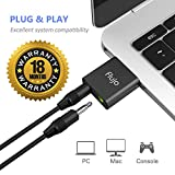 Best Sound Cards - Flujo Aluminum USB External Sound Card Audio Adapter Review