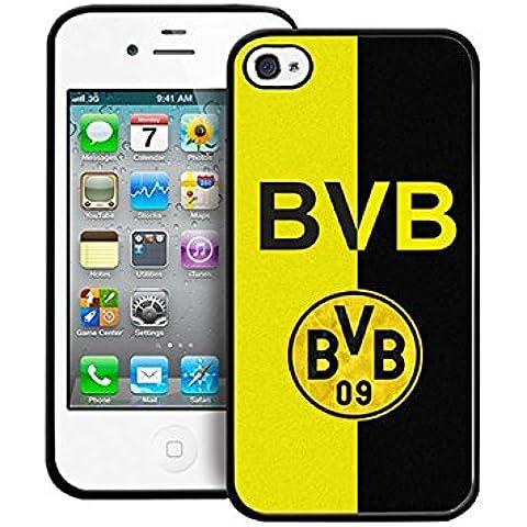Iphone 4 / 4s Cabina telefonica Football Club Borussia Dortmund Germany Iphone 4s CustodiaCase Present (1037 Vinyl)
