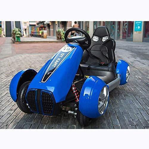 AIOJY Fernbedienung Elektro Ride on Quad Fahrrad Fernbedienung LED Lichter und Musik Mini Kinder Elektro RC Auto GLE63S AMG 4x4 Kinder Elektro Ride x4 Kids On Vehicle (Color : Blue) (4x4 Rc Elektro-lkw)