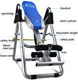 PRO GRAVITY INVERSION TABLE FOLDABLE BACK NECK PAIN EXERCISE THERAPY BENCH