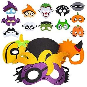 15 máscaras de Fieltro de
