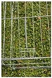 Kaninchen-Freilaufgehege Easy mit Sonnenschutz, Kerbl, XXL, verzinkt, 115 x 115 x 60 cm - 4