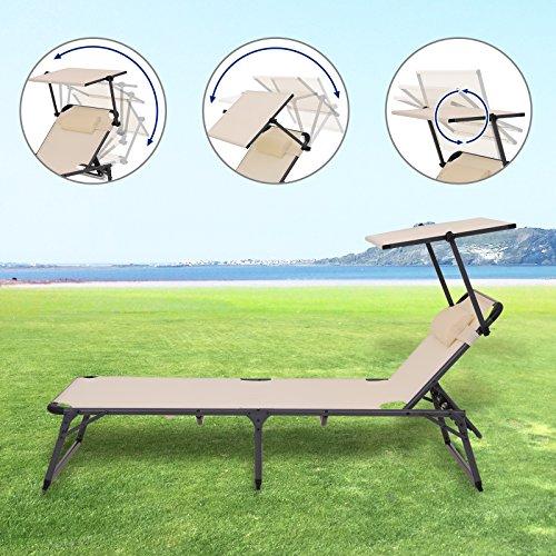 songmics-aluminium-sonnenliege-gartenliege-verstellbarer-klappbare-liegestuhl-mit-kopfkissen-und-sonnendach-belastbar-bis-250-kg-beige-193-x-67-x-32-cm-gcb19be-3