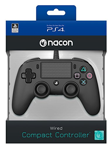 NACON Controller Color Edition - wired black PS4 bei Amazon