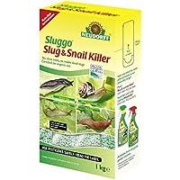 Neudorff Sluggo - Exterminador para babosas y caracoles, caja de 1 kg, granulado
