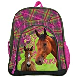 Maxi & Mini - Horses Pony Horse Junior Backpack for Sport and Leisure Nursery School Bag