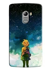 Clarks Girl Galaxy Hard Plastic Printed Back Cover Case For Lenovo K4 Note