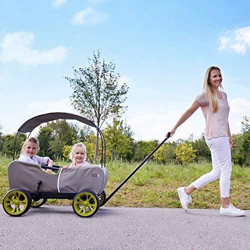 51Rb8M%2BCPNL - Hauck - Carro Eco móvil para niños de 2 - 6 años, Color Verde (T93108)