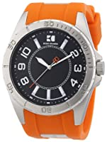 Reloj Boss Orange Icon 1512808 de cuarzo para hombre, correa de silicona color naranja de Boss Orange