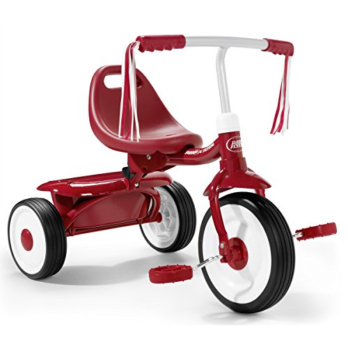 Radio Flyer - Tricicleta, color rojo (415A)
