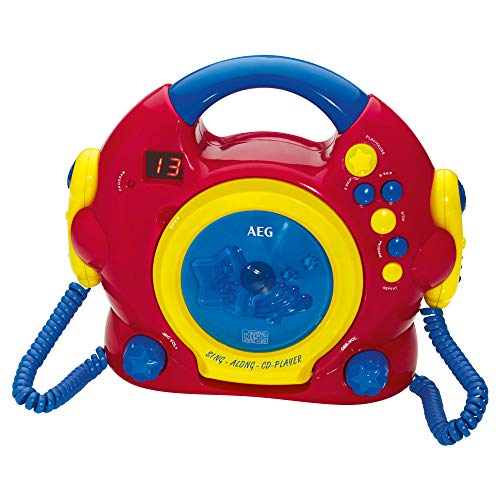 Farbenfroher Karaoke CD Player für Kinder