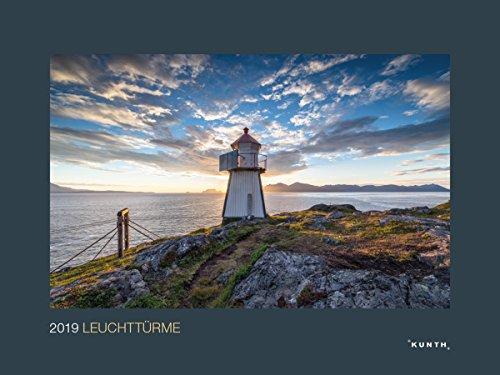 Leuchttürme 2019: Wandkalender