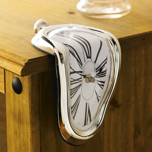 Salvador Dali Melting Clock by The Discovery Store