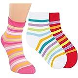 VITASOX Kinder Socken Ringel für Mädchen & Jungen 6er oder 3er Pack