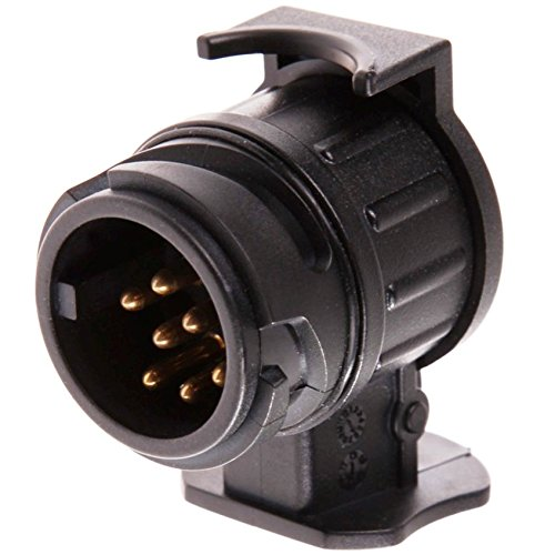 Anhänger Auto Adapter 13 auf 7 Polig Pin Von Autoscar - Steckdose Anhängerkupplung Converter Connector Schwer Robust Stabil