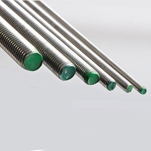 OPIOL QUALITY Gewinde Stange Gewindestangen M22 x 1000 mm DIN 975 Edelstahl A2   1 Meter rostfrei Gewindebolzen 4 St/ück