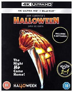 Halloween [4K Ultra HD + Blu-ray + Art Cards] [Slipcover] [2018] (B07GRP8C3B) | Amazon Products