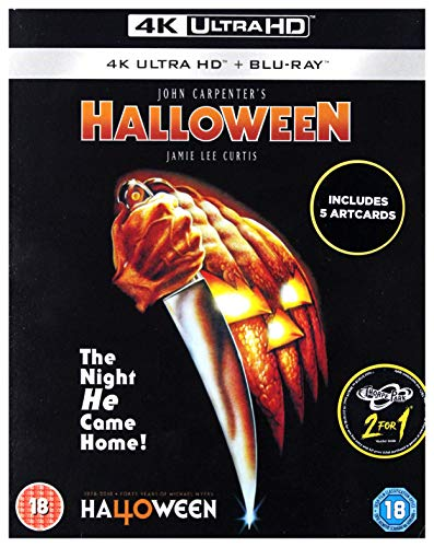 Halloween - Die Nacht des Grauens [Blu-Ray] [Region Free] (Carpenter 1978 Halloween John)