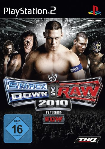 WWE Smackdown vs Raw 2010 (Wrestling Games Ps2)