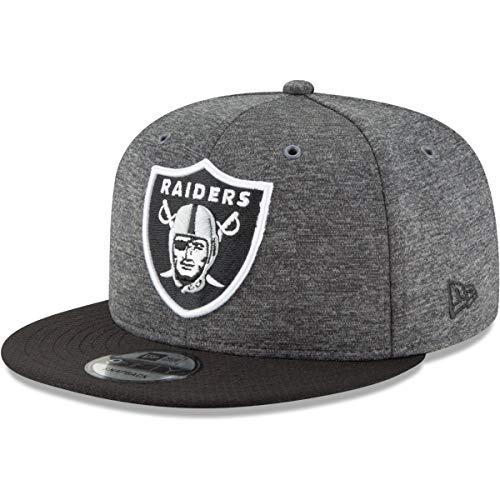 New Era Oakland Raiders 9fifty Snapback NFL 2018 Sideline Home Graphite Graphite - M - L