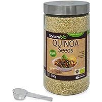 Graines de Quinoa Naturel NortemBio 1,4 Kg, Qualité Supérieure. Excellente Source de Protéines et de Vitamines.