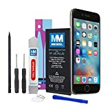 MMOBIEL Batterie pour iPhone 6S Plus Li-ION 3.8v 2750 mAh 10.45 Wh Inclus Trousse d'outils Professionnelle et Manuel d'instructions