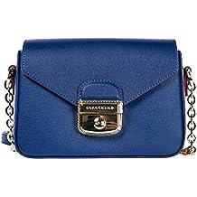 Longchamp borsa donna a tracolla pelle borsello indigo