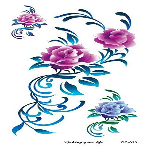 Umwelt tattoo aufkleber persönlichkeit damen tattoo fotostudio selbstauslöser tattoo aufkleber 3 Stücke-5 tattoo aufkleber 210 & times;100mm Serviette De Li