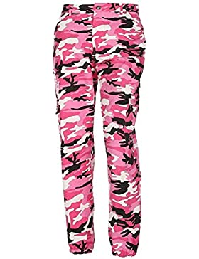Saoye Fashion Pantalon Militar Mujer Largas Elegantes Otoño Outdoor Pantalon Deporte Casuales Pantalon Cargo Niñas...