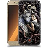 Official Anne Stokes Soul Bond Wolves 2 Hard Back Case for Samsung Galaxy A5 (2017)