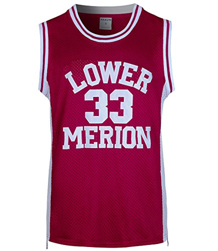 RAAVIN Herren #33 High School Basketball Jersey Bryant Basketball Trikot S-XXXL - Rot - Mittel (Basketball-jersey-high-school)
