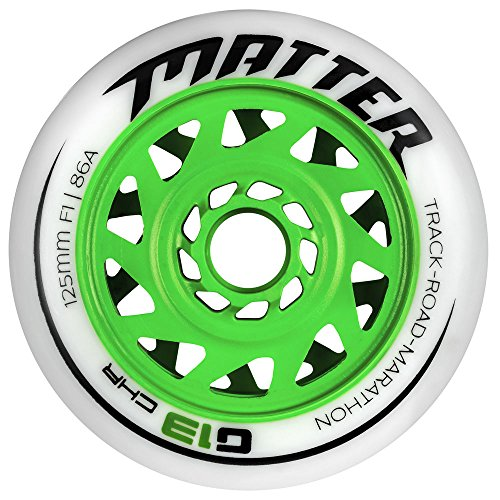 Matter G13 CHR 125 mm F0 (88a) Speedskating-Inline-Skate-Rolle