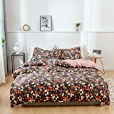 LJJYF Einfache Knie Decke,Bettbezug und Kissenbezug aus Baumwolle, Single Double King @ A13_260 * 230cm (3St),Einfache Knie Decke