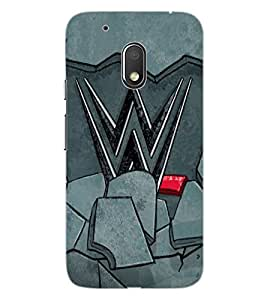 ColourCraft Impressive Design Design Back Case Cover for MOTOROLA MOTO G4 PLAY