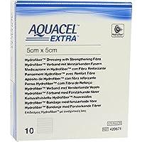 AQUACEL Extra 5x5 cm Verband 10 St Kompressen preisvergleich bei billige-tabletten.eu