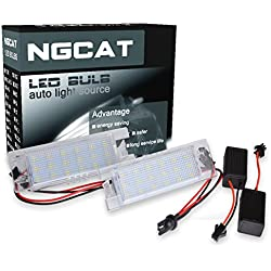 NGCAT 18 LED 3528 SMD LEDs Bulb License Number Plate Light Lamps CanBus error free