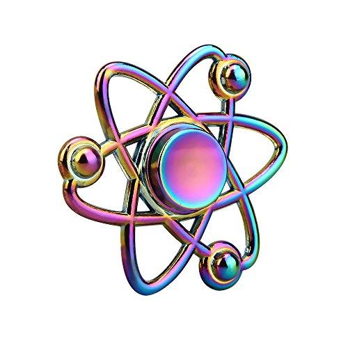 #ALISIAM Hexagramm fidget spinner gold metall Finger Spinner Spielzeug hand Toys Spielzeug Geschenke für Kinder und Erwachsene (Rosa)#