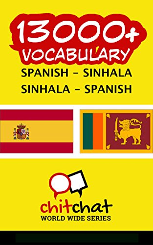 13000+ Spanish - Sinhala Sinhala - Spanish Vocabulary por Jerry Greer