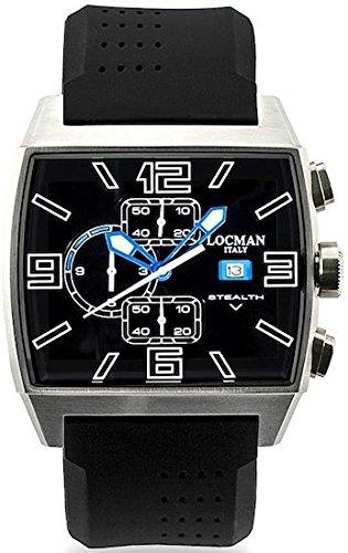 Locman 030100BKFSK0SIK Montre à Bracelet pour Homme