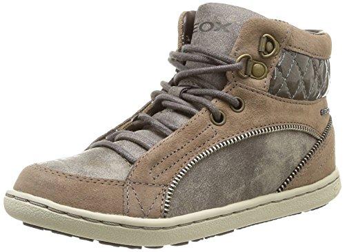 Geox Jr Prisca, Sneaker Bambina Beige (DK Beige)