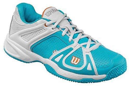 Wilson Wrs316700E035, Chaussures de tennis femme schwarz/weiß