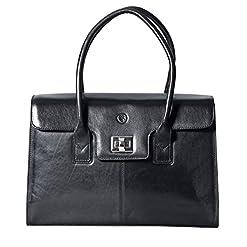 Damen Leder Businesstasche vonMaxwell Scott, Fabia, online kaufen