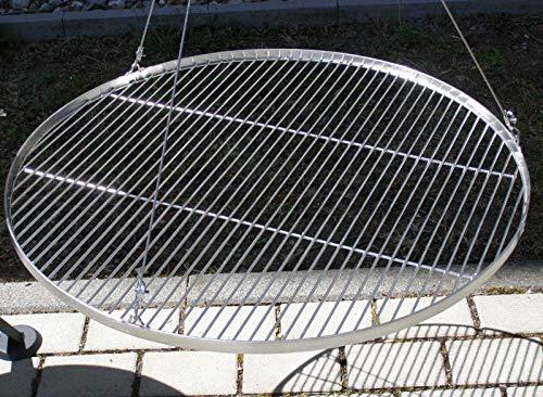 80 cm Grillrost Grill Edelstahl V2A 1.4301 f. Schwenkgrill Feuerschale Dreibein Feuerstelle (Feuerstelle Kostüm)