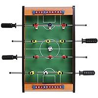 Virhuck Mini Tischplatte Tischkicker Tischbillard, Indoor & Outdoor Tisch Fußball Spiel Set für Kinder