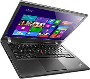 Lenovo 20AQ0067UK ThinkPad 35,6 cm (14 Zoll) Notebook-PC (Intel Core i5-4300U, 1,9GHz, 2,9GHz, 4GB RAM, 500GB HDD, Win 7 Pro) schwarz
