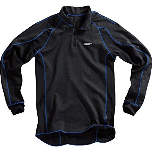 Thermoboy Sous-chemise fonctionnelle 365+ Noir - Noir