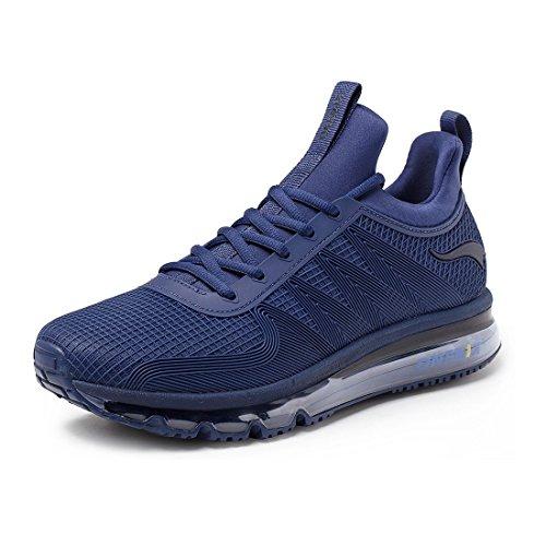 onemix Herren Air Laufschuhe Trainer Casual Walking Gym Sportschuhe Blau ZLSL 46