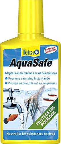 TETRA AquaSafe - Conditionneur d'Eau pour Aquarium Poissons tropicaux - 250ml