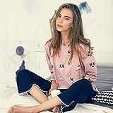 YI Pyjamas Frauen Herbst Baumwolle Langärmelige Hosen Süße Niedlichen Cartoon Hause Service Anzüge