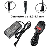 SIKER 19V 3.42A Replacement Laptop Adapter Charger For Acer-Chromebook 15 14 13 11 R11 B5 CB5-571 C720 C720p C740 Power Cord,CB3-111-C19A, CB3-111-C670, Acer Aspire One Cloudbook AO1-131, AO1-431